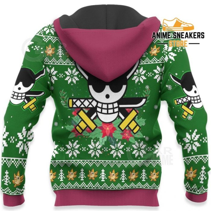 Zoro Ugly Christmas Sweater One Piece Anime Xmas Gift Va10 All Over Printed Shirts
